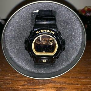 G Shock Black & Gold